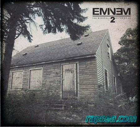 альбом Eminem - The Marshall Mathers LP 2 (Deluxe Edition) (2013)